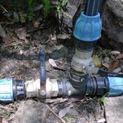 Main Line Valve at Standpipe Off Position