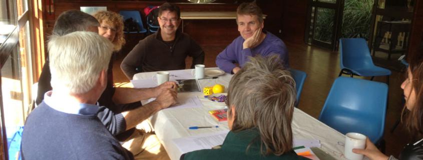 Discussion (Photo Jenny Frazer)