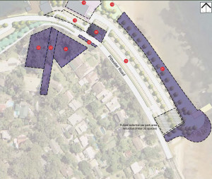 Church Point Reserve Management Strategy (The identified area for reduction of further car spaces at the south eastern end of the reserve would be considered, should further public spaces become available through schemes such as the redevelopment of Holmport Marina).