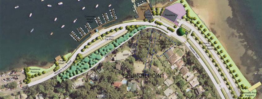 Concept Master Plan Church Point