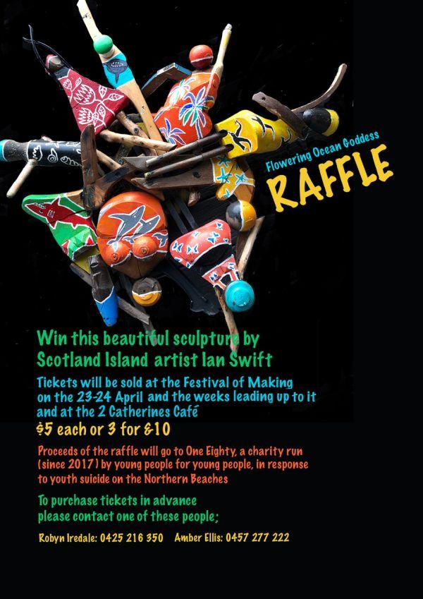 Festival of Making raffle