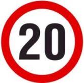 20 kph speed limit