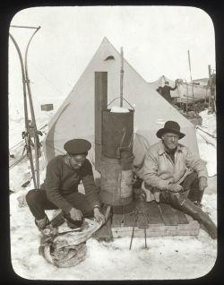Hurley and Shackleton