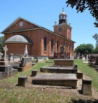 Thompson's grave