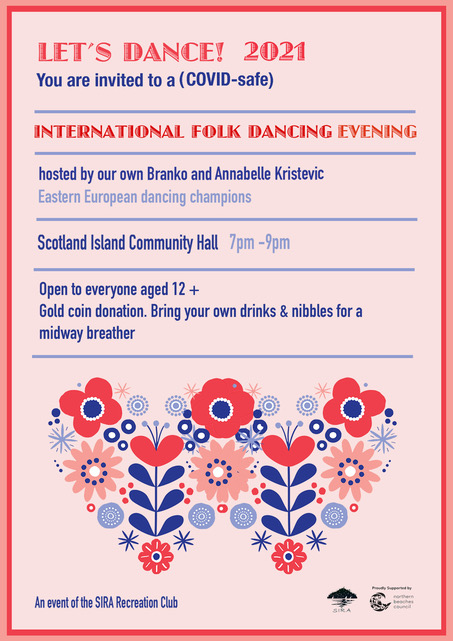 folkdancing flyer