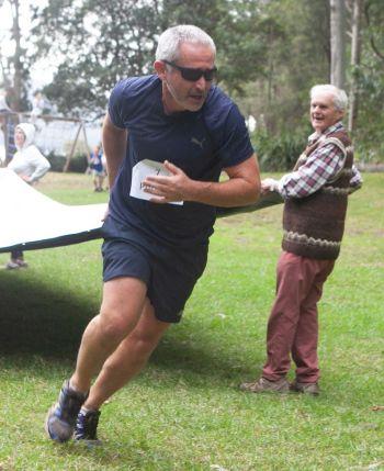 Peter Lalor running