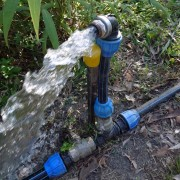 Water Flowing from Standpipe