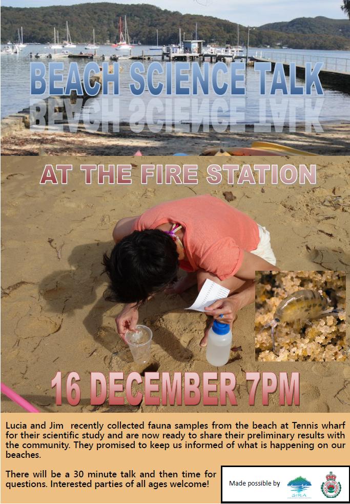 Beach Science talk