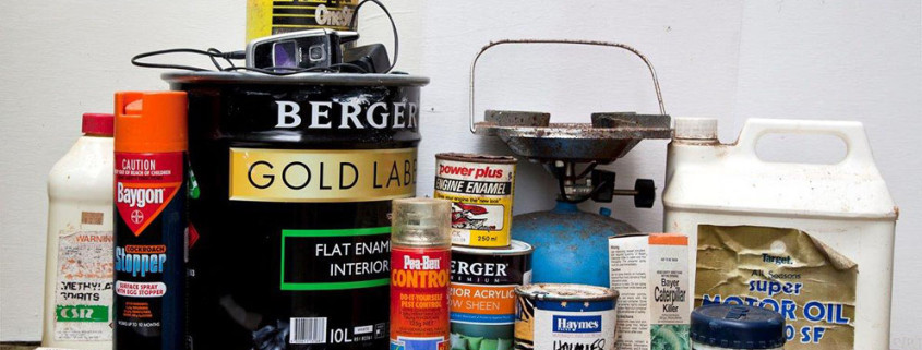 Household Chemicals (Photo June Lahm)
