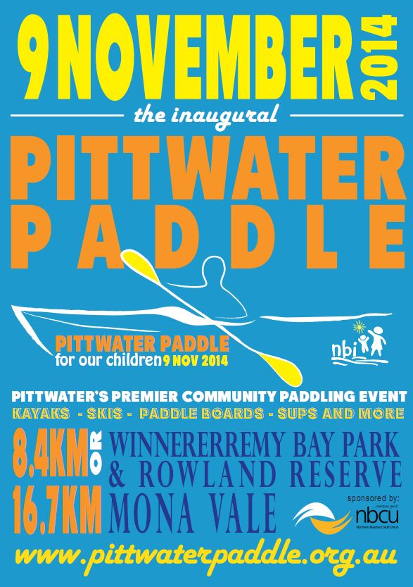 Pittwater Paddle Flyer