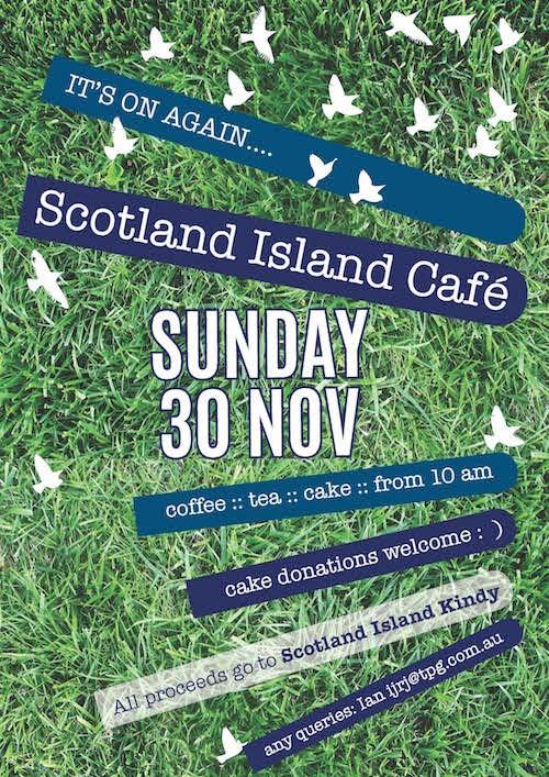 Island Cafe 30 Nov